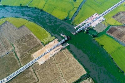 Dự án tưới tiêu phía Tây sông Vàm Cỏ