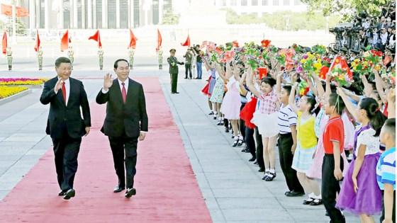 Đưa quan hệ đối tác hợp tác chiến lược toàn diện Việt Nam - Trung Quốc  ảnh 1