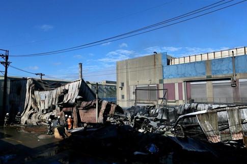 Cháy khu nhà ở của lao động, 6 người Việt chết ở Đài Loan - ảnh 1