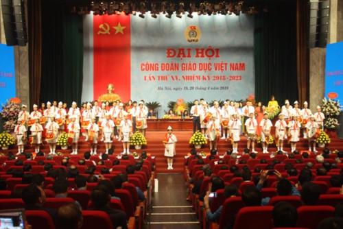 Khai mạc Đại hội Công đoàn Giáo dục Việt Nam lần thứ XV, nhiệm kỳ 2018 – 2023
