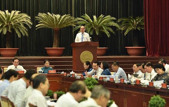 Description: Hội nghị Thành ủy TPHCM bàn kế hoạch nhân sự cho nhiệm kỳ tới ảnh 2
