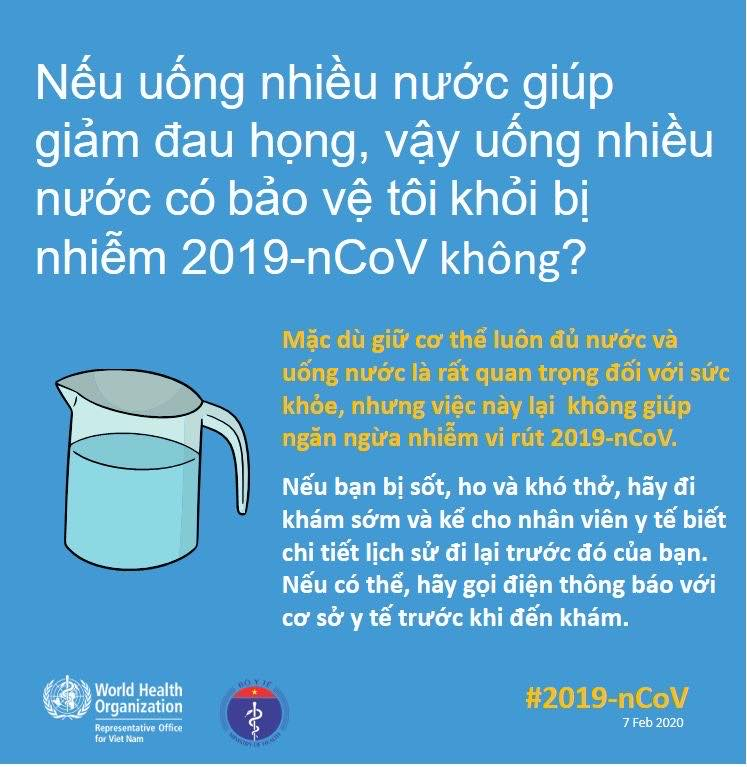 Bộ Y tế giải đáp thắc mắc về nCoV bằng hình ảnh
