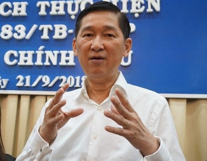 Description: Ông Trần Vĩnh Tuyến được HĐND TPHCM bầu giữ chức Phó Chủ tịch UBND thành phố vào tháng 4.2016. Ảnh: Minh Quân