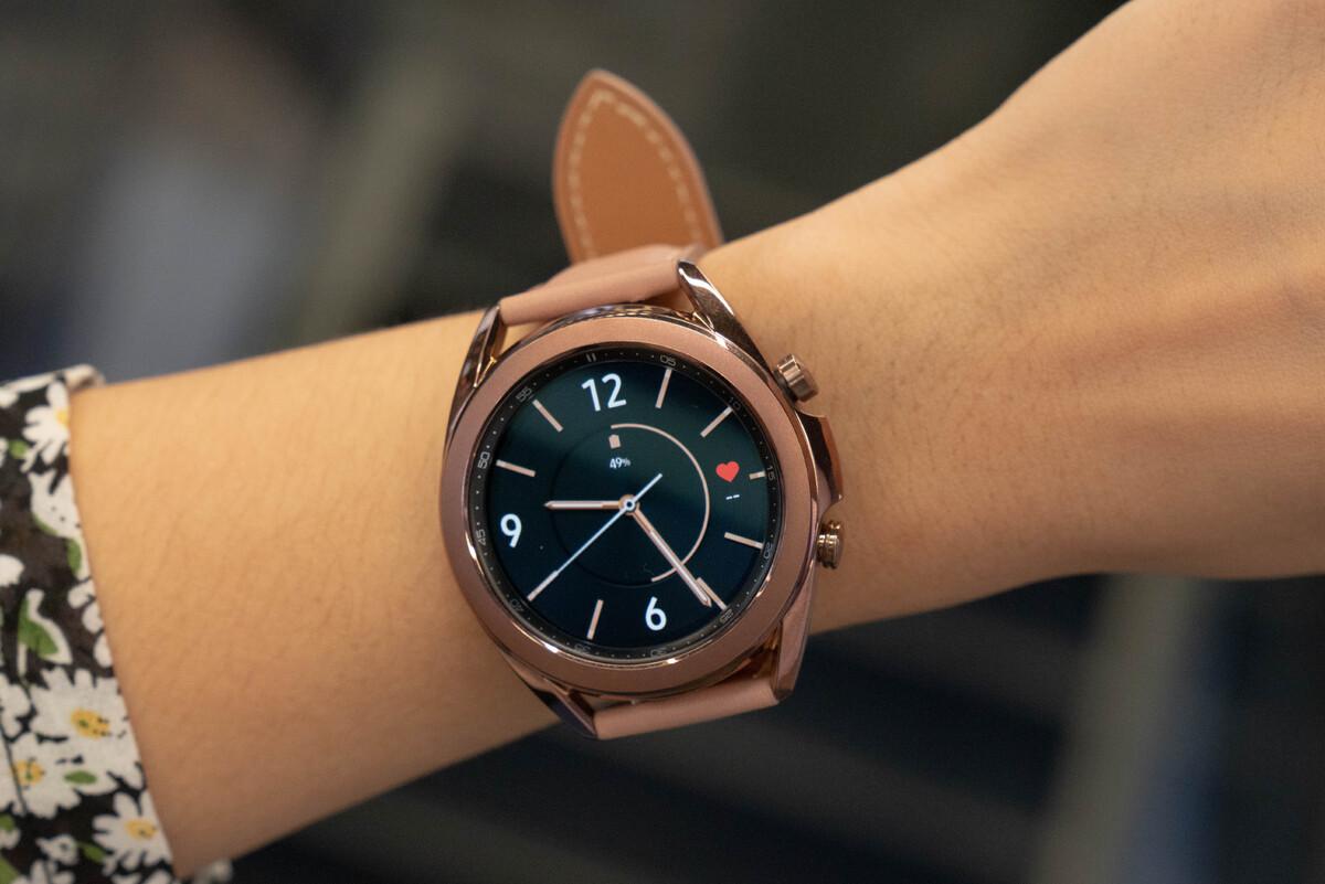 Ảnh thực tế Galaxy Watch 3