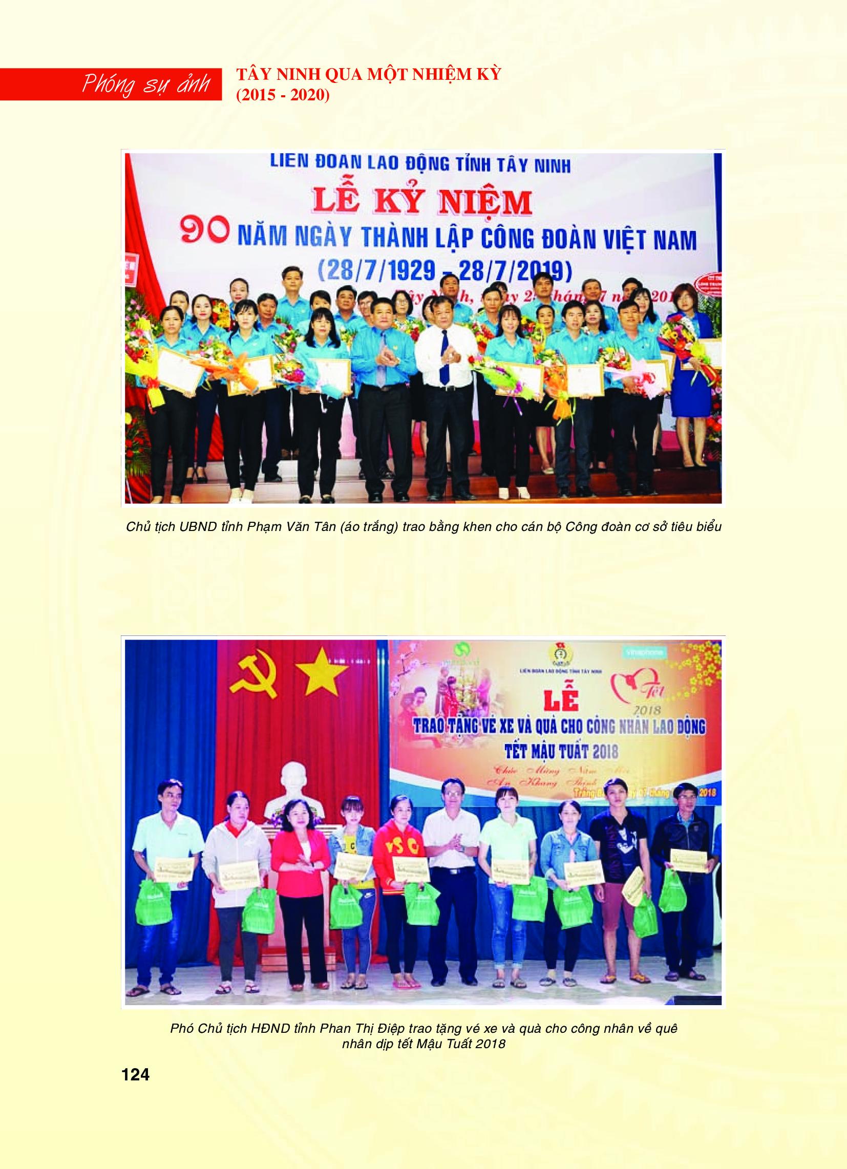 Tây Ninh qua một nhiệm kỳ (2015 - 2020): Công tác xây dựng và hệ thống chính trị
