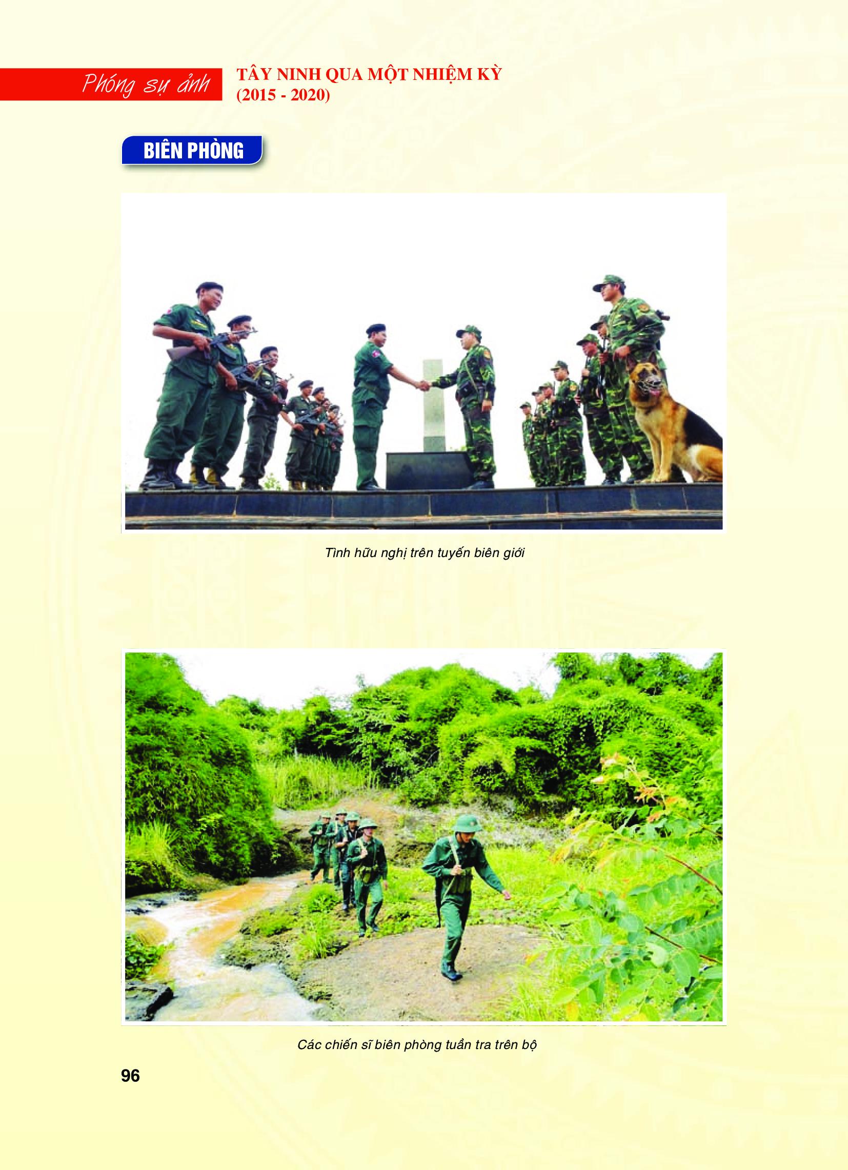Tây Ninh qua một nhiệm kỳ (2015 - 2020):  Quốc phòng - An ninh