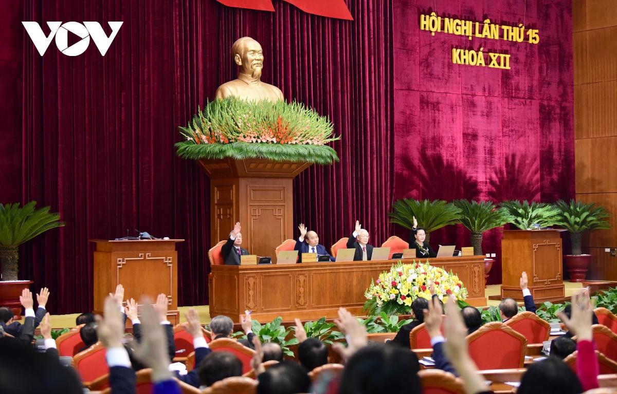 Khai mạc trọng thể Hội nghị Trung ương 15