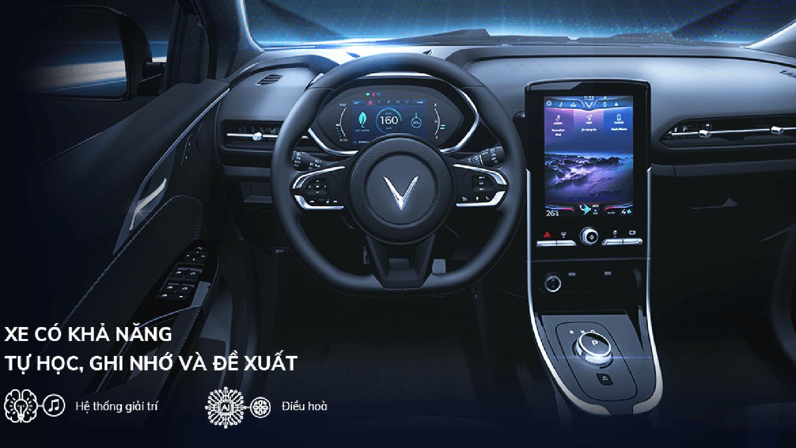 6 tính năng khiến xe điện VinFast VF e34 thông minh thuộc loại nhất thế giới