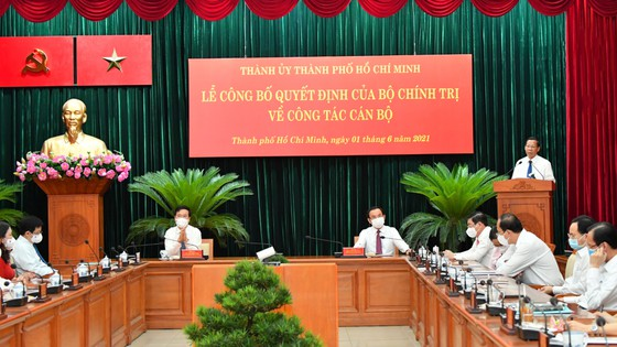Đồng chí Phan Văn Mãi làm Phó Bí thư Thường trực Thành ủy TPHCM ảnh 5