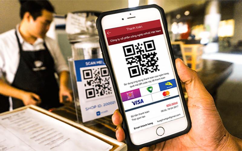 QR code - một hình thức thanh toán không tiền mặt. (Ảnh: tapchitaichinh.vn)