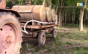 [Video] Cải tiến xe vận chuyển mủ cao su kiêm xe chữa cháy