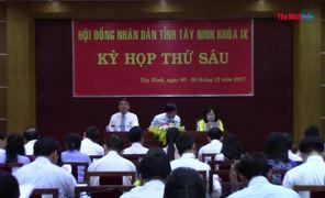 Khai mạc kỳ họp thứ 6 HĐND tỉnh Tây Ninh khoá IX, nhiệm kỳ 2016-2021