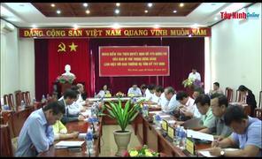 Bí thư Trung ương Đảng, Trưởng ban Dân vận Trung ương Trương Thị Mai làm việc tại Tây Ninh