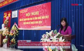 Ngành Khoa học và Công nghệ Tây Ninh triển khai nhiệm vụ năm 2018
