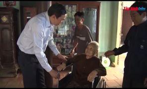 Phó Chủ tịch UBND tỉnh Dương Văn Thắng, thăm, chúc tết các cụ thọ 100 tuổi và gia đình chính sách