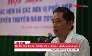 Báo Tây Ninh họp mặt cộng tác viên  và các đơn vị phối hợp tuyên truyền