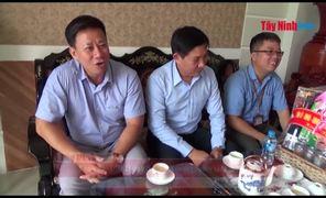 Lãnh đạo tỉnh thăm gia đình chính sách tiêu biểu tại TP.Tây Ninh