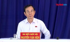 Đoàn ĐBQH tỉnh Tây Ninh tiếp xúc cử tri các huyện Gò Dầu và Châu Thành