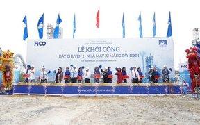 Khởi công xây dựng Dây chuyền 2 – Nhà máy xi măng FiCO Tây Ninh