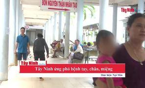 Tây Ninh ứng phó với bệnh tay, chân, miệng