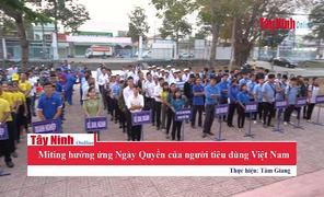 Miting hưởng ứng Ngày Quyền của người tiêu dùng Việt Nam