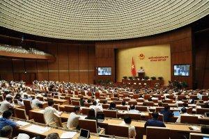 Quốc hội tiến hành chất vấn các thành viên Chính phủ
