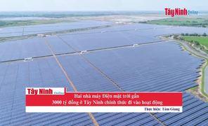 Khánh thành hai nhà máy điện mặt trời TTC số 01 và 02