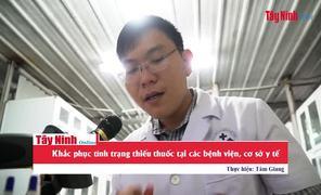 Khắc phục tình trạng thiếu thuốc tại các bệnh viện, cơ sở y tế