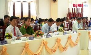 Huyện Hòa Thành: Hội nghị  50 năm thực hiện Di chúc của Chủ tịch Hồ Chí Minh