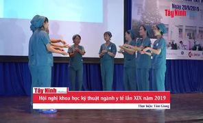 Hội nghị khoa học kỹ thuật ngành y tế lần XIX năm 2019
