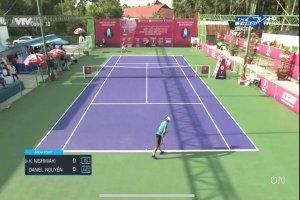 Trực tiếp Vòng bán kết đơn nam Giải quần vợt quốc tế ITF World Tennis Tour - Hải Đăng Cup 2019