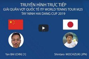 Trực tiếp trận đơn nam giữa Shintaro Mochizuki và Jan Bai