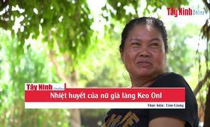 Nhiệt huyết của nữ già làng Keo Onl