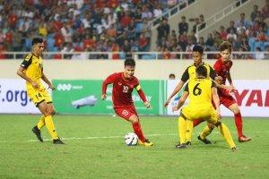 Trực tiếp môn bóng đá nam SEA Games 30-U22 Việt Nam và U22 Brunei