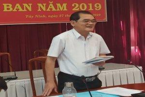Ban Thường vụ Tỉnh uỷ Tây Ninh giao ban công tác năm 2019