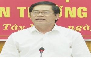 Hội nghị Ban Chấp hành Đảng bộ tỉnh Tây Ninh lần thứ 47