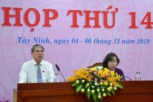 Khai mạc Kỳ họp thứ 14, HĐND tỉnh Tây Ninh, khóa IX, nhiệm kỳ 2016-2021