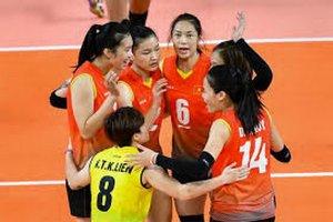Trực tiếp bóng chuyền nữ Việt Nam-Thái Lan