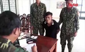 Đồn BP Mộc Bài: Bắt đối tượng vận chuyển trái phép ma túy từ Campuchia vào Việt Nam