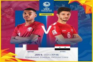 Trực tiếp U23 Qatar-U23 Syria Giải U23 Châu Á 2020