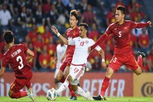 Trực tiếp U23 Việt Nam gặp U23 Jordan