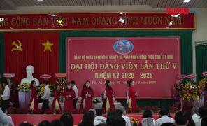Ngân hàng NN&PTNT Tây Ninh Đại hội đảng viên lần thứ V, nhiệm kỳ 2020-2025