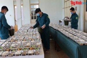 TP.Tây Ninh: Đảm bảo công tác hậu cần khu cách ly