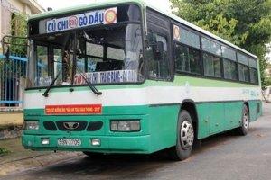 Tạm ngưng hoạt động một số tuyến xe buýt trong và ngoài tỉnh