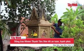 Đồng bào Khmer Thạnh Tân: Đón tết Chol Chnam Thmây an toàn, hạnh phúc