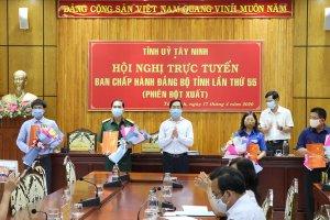 Tỉnh uỷ Tây Ninh công bố quyết định về công tác cán bộ