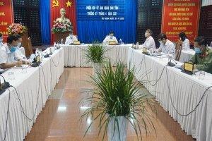 """Tây Ninh: Thực hiện """"nhiệm vụ kép"""" vừa chống dịch vừa phát triển kinh tế-xã hội"""