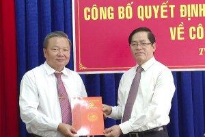 Ban Thường vụ Tỉnh ủy công bố các quyết định về công tác cán bộ