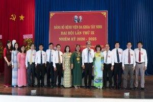 Đại hội Đảng bộ Bệnh viện đa khoa Tây Ninh lần thứ IX, nhiệm kỳ 2020-2025