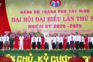 Đại hội đại biểu Đảng bộ Thành phố Tây Ninh lần thứ XII, nhiệm kỳ 2020 - 2025